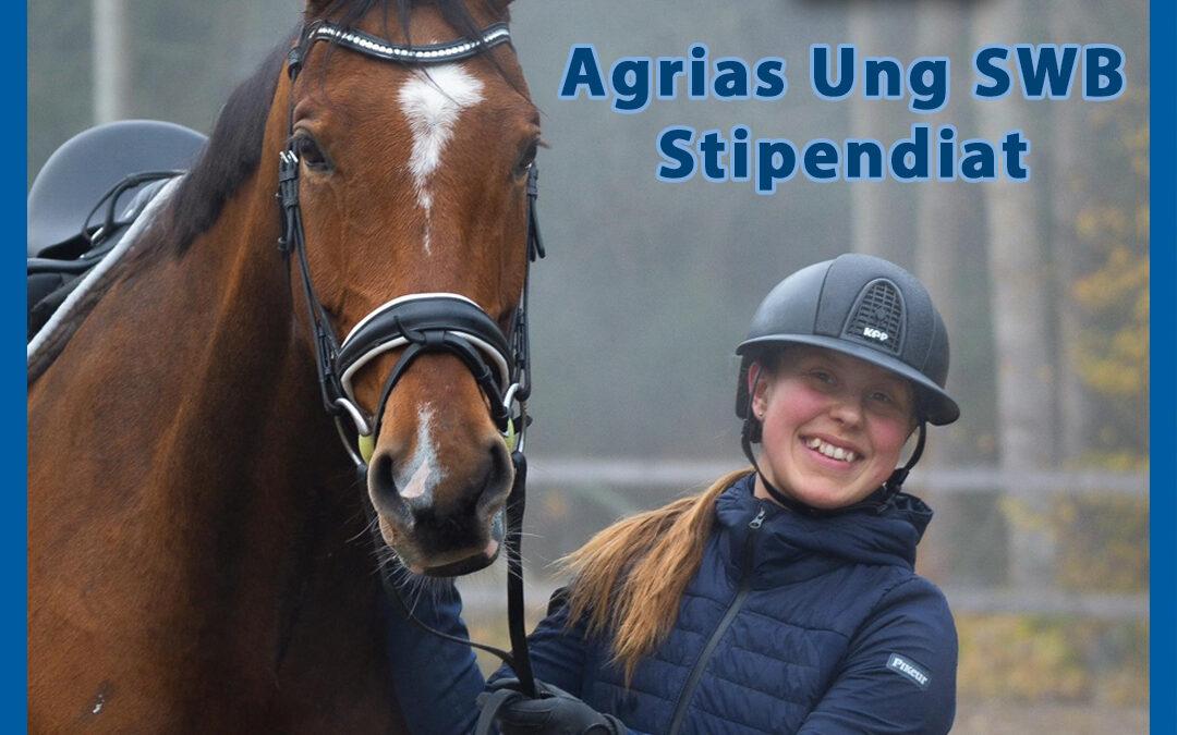 Agrias Ung SWB-stipendiat 2020